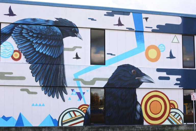 Bartlett H.S. - Collaboration w/ Ernest Doty - Anchorage, AK - 2014